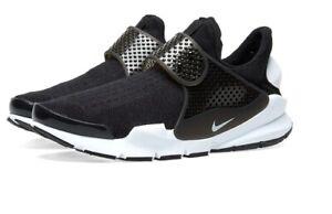 Nike Sock Dart KJCRD Black/White Mens SNEAKERS 10 US, 9 UK, New