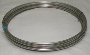 "1/4"" OD x 100 Feet x 0.02"" Wall Thickness 316 Stainless Steel Tubing Coil"
