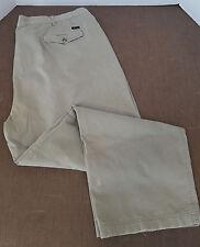 "Alexander Julian Men's Khaki Pants 47"" x 29 1/2"" (Measured) Pleated LAUNDERED!!!"