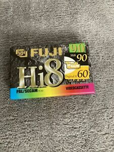 Fuji 90 Hi 8 Video 8 Tape New And Sealed Pal/secam