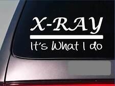 X-ray sticker decal *E288* x-ray tech radiology radiologist er hospital film