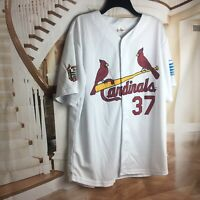 ST LOUIS CARDINALS JEFF SUPPAN #37 SGA 2006 JERSEY Button Down Shirt ADULT XL