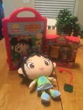 New Fisher Price Ni Hao Kai Lan Sleepover Figurine Doll Nickelodeon Magnetic Lot