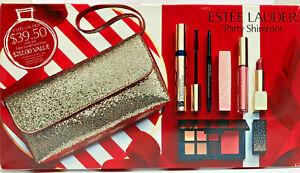 Estee Lauder Party Shimmer 7 Piece Set - Mascara, Eyeliner, Lip Volumizer...