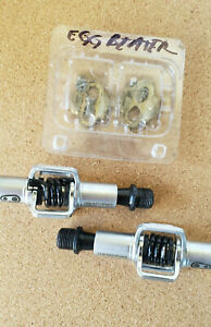 Crank Brothers Eggbeater  Pedals, Cleats, Excellent Condition