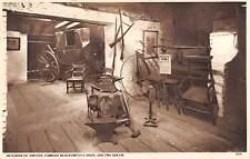 uk49 interior of smithy famous blacksmiths shop gretna green real photo uk
