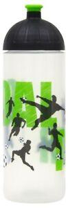 ISYbe Sport-Trinkflasche, Fußball 0,7L, BPA-frei, auslaufsicher, Kohlensäure gee