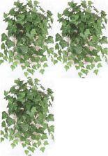 "3 OXFORD IVY BUSH ARTIFICIAL 23""  GREENERY PLANT SILK"