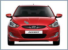 Front Hood Grill H Logo Emblem For 11 12 Hyundai Accent