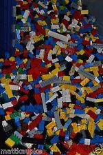 BRICKS ONLY! Lot of 500 Lego Brick Pieces 2x2 2x3 2x4 2x6 2x8 2x10 bulk - M5