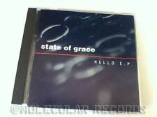 STATE OF GRACE Hello EP 5-track UK CD E.P. 1995 3rd Stone STONE012CD Electronica