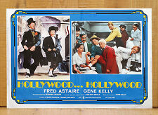 HOLLYWOOD...HOLLYWOOD fotobusta poster Fred Astaire Gene Kelly Sinatra Musical