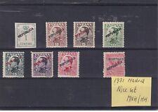 0412  Spain ( Civil war) 1931  MNH/MH  Madrid nice set of stamps