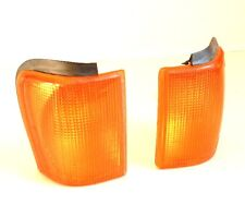 VW SCIROCCO 1982-1992 FRONT INDICATOR REPEATER LIGHT LAMP SET LH+RH - AMBER