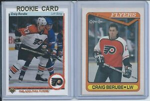 90/91 Craig Berube Upper Deck RC + O-Pee-Chee RC
