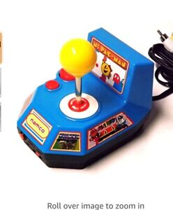 NAMCO Ms Pac Man TV Games 5-in-1 Plug & Play Retro TV Video Games Console Galaxa