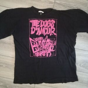 Rare Vintage 1988 The Dogs D'Amour band glam rock T shirt size M