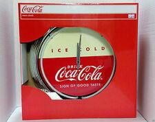 Neon Coca Cola Clock NEW