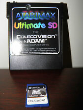 ColecoVision/ADAM Ultimate SD cartridge (comes with Mario Brothers and Mr. Chin)