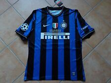 MAGLIA Inter Milano Milano Soccer Shirt CL Final 2010 Madrid-Bayern MILITO 22