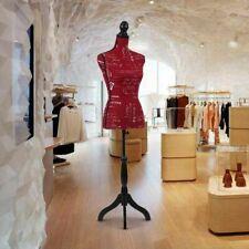 Busto Sartoriale Donna manichino Femminile Mannequin con Stand RED H18107R