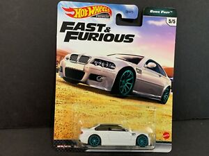 Hot Wheels BMW M3 E46 Blanco Fast And Furious GBW75-956K 1/64