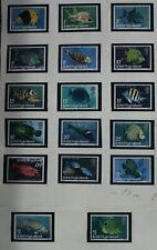 British Virgin Islands 1975  definitives set NHM