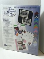 Creative Memories Collection Printed Photo Mounting Paper 34 Sheets 10X12 New