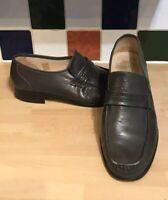 Grenson's Men's Loafers Slip Ons Grey UK 11 31928 G