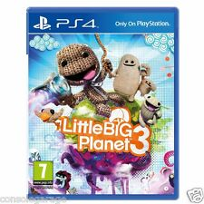 LITTLE BIG PLANET LBP 3 III PS4 GAME USED IN SUPERB CONDITION