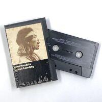 JIMI HENDRIX Crash Landing - Cassette Tape - Slipcase 1975 Reprise Records