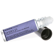 Aromine Shield Germ Fighting & Sanitizer Essential Oil Roll On, Pre-Diluted 10ml