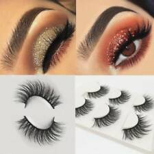 3 Pairs Of Thick Cross-section Three-dimensional 3D Multilayer False Eyelashes B