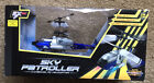 Sky Patroller 3 Channel RC Helicopter Blue EXRC Easy Fly Colored Flashing Lights