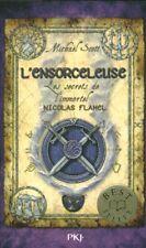 Livre de Poche l'ensorceleuse les secrets de l'immortel Nicolas Flamel  book