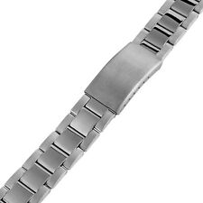 Minott Uhrenarmband Edelstahl silbern//schwarz mattiert//glänzend 31172S
