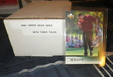 2001 UPPER DECK GOLF COMPLETE 200 CARD SET - TIGER WOODS RC + TALES SET (30)