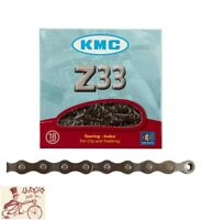 """KMC Z33   6-7-SPEED 1/2"""" X 3/32""""---116 LINKS BROWN MTB-ROAD BICYCLE CHAIN"""