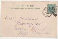 South Norwood Duplex Postmark on Croydon Postcard, B589