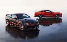 2013 Mustang Boss 302 Laguna Seca 24X36 inch poster, sports car, muscle car