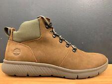 Timberland MEN'S Scrub Dark Brown Nubuck Leather Casual Boots A1UYR