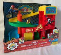 NEW Ryan's World Super City Track Set playset Ryan's Racers Toy