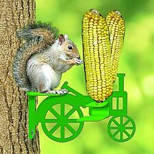 Audubon Tractor Corn Cob Squirrel Feeder Green