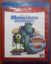 Monstruos University (Monsters) [Disney Blu-Ray 2D + 3D & Region Free ABC] NUEVO
