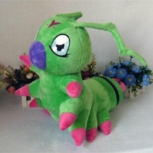 40*45cm Animal Digimon Digital Monsters Wormmon Plush Toy Stuffed Cartoon Gifts