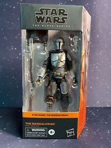 2020 Star Wars Black Series #01 The Mandalorian Beskar Armor c8/9 In Hand