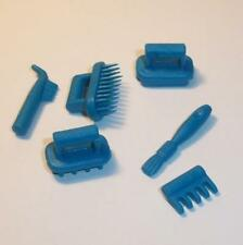 Playmobil   Stables/Farm/Horse - Grooming Brushes & Tools in Blue for Ponies-NEW