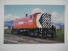 Canadian Pacific #8004 Baldwin Model DRS44-1000 Coquitlam BC Rail Train Postcard