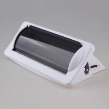Water Resistant Marine Stereo Cover - White Plastic Boat Radio Protector Shield