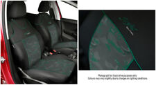 Front seat cover fit MERCEDES 190 - VEST SHAPE 2x green